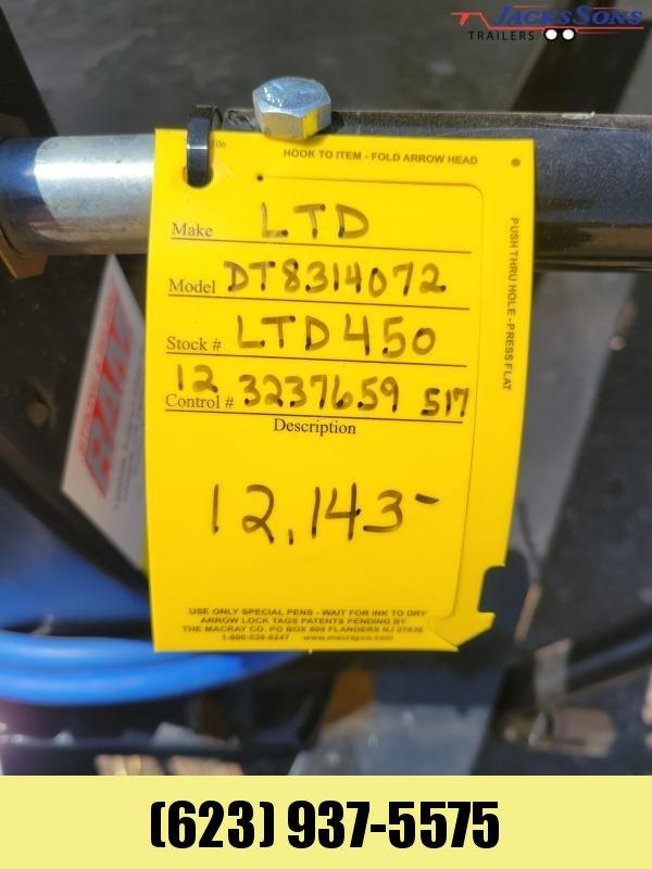 2021 Load Trail DT8314072SS Load Trail Dump Trailer 7x14 Dump Trailer