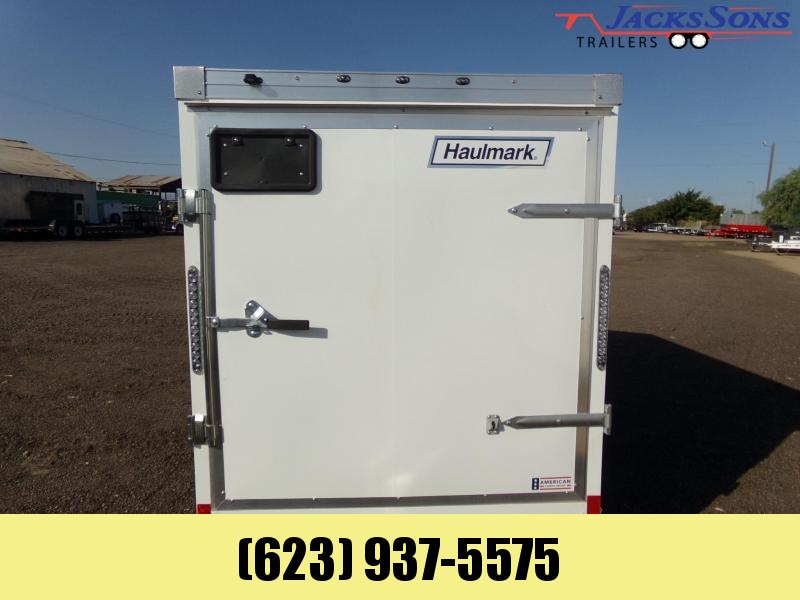 2020 Haulmark 5X8 REDUCED HEIGHT FIT IN GARAGE Enclosed Cargo Trailer
