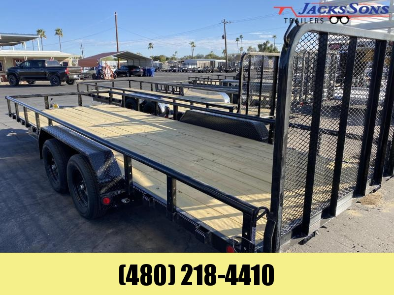 2021 PJ Trailers 83X20 Utility Trailer Please call for current price & availability