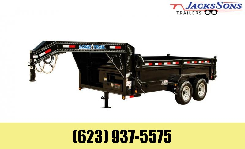 2021 Load Trail 14FT GOOSENECK DUMP Dump Trailer