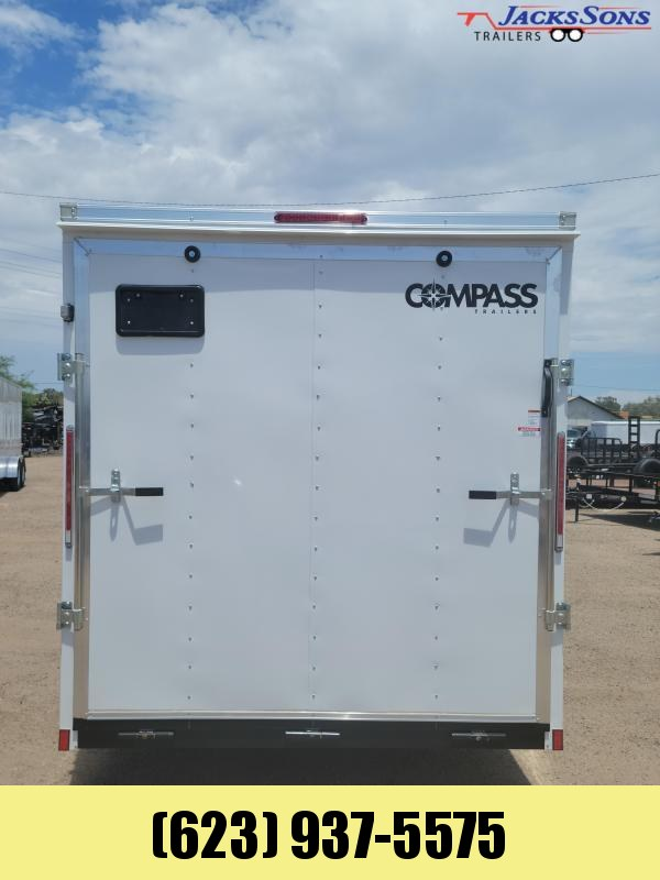 2022 Compass SSCBA7.0X16TE2FE Enclosed Cargo Trailer