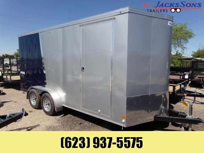2020 Haulmark 7 X 16 XTRA HEIGHT UTV PACKAGE Enclosed Cargo Trailer