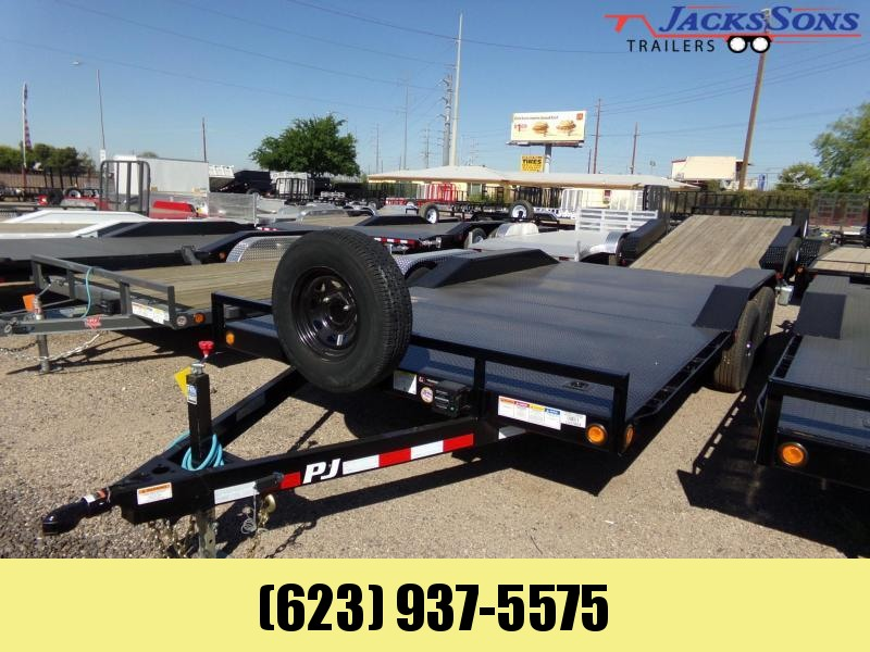 2020 PJ Trailers B5 18FT STEEL DECK BUGGY HAULER XTRA WIDE Car / Racing Trailer