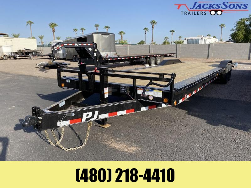 2021 PJ Trailers 102X32 Equipment Trailer