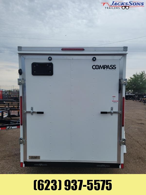2022 Compass SSCBA6.0X10S12FE Enclosed Cargo Trailer