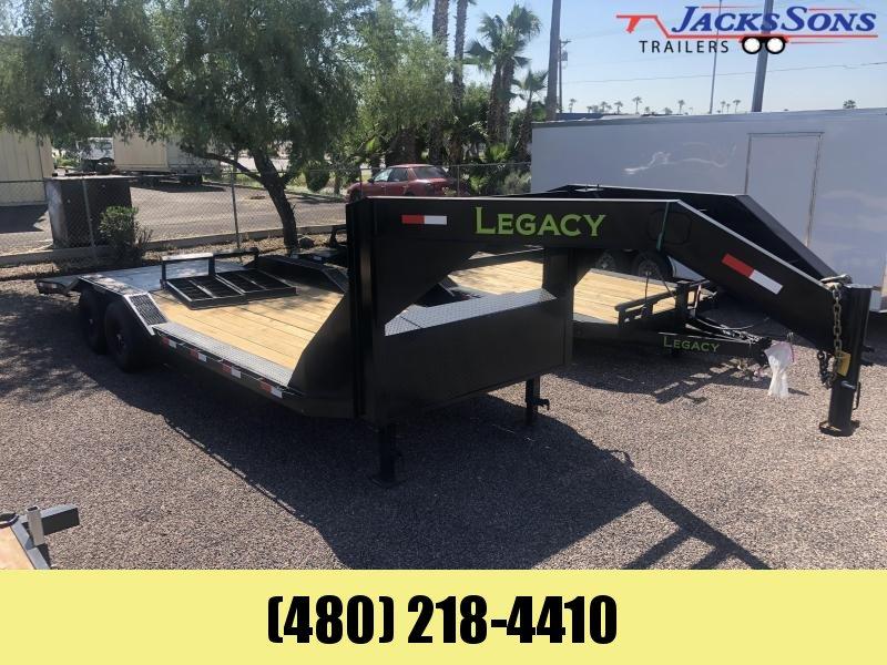 2022 Legacy 102X24 Equipment Trailer