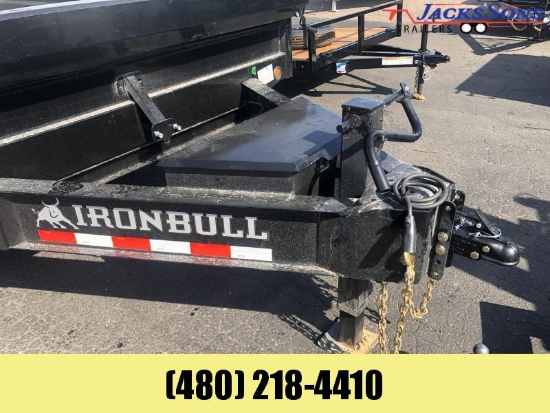2022 Iron Bull 96x14 Dump Trailer