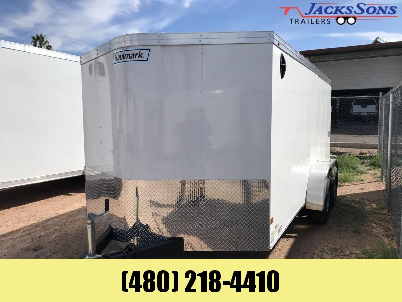 2021 Haulmark 7X14 Enclosed Cargo Trailer