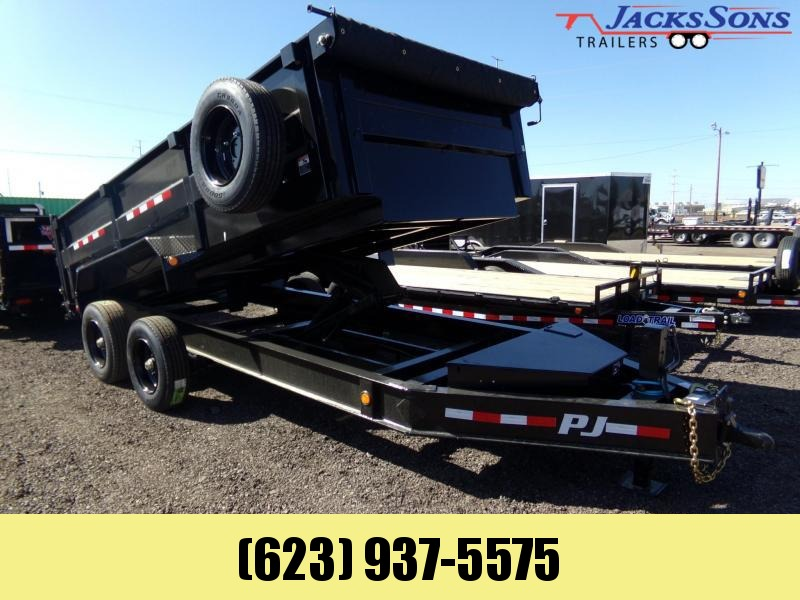 2020 PJ Trailers 16 FT HD 20K DUMP Dump Trailer