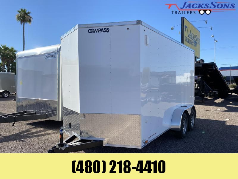 2020 Compass 7x14 Enclosed Cargo Trailer