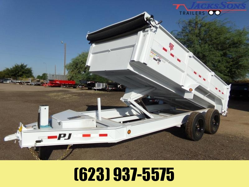 2021 PJ Trailers 16 FT DUMP HEAVY DUTY 20K LOADED W OPTIONS Dump Trailer