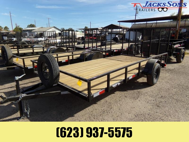 2020 Other 14X 81 UTV Utility Trailer RAMP GATE