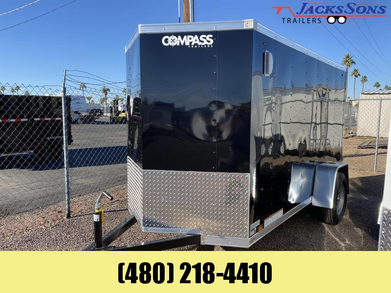 2021 Compass 5x10 Enclosed Cargo Trailer