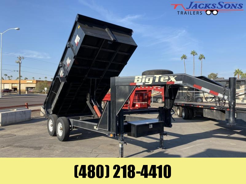 2013 Big Tex Trailers 83X14 Dump Trailer