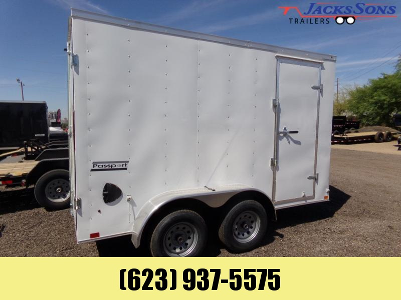 2020 Haulmark 12 X 6 PASSPORT TANDEM AXLE DOUBLE DOOR Enclosed Cargo Trailer