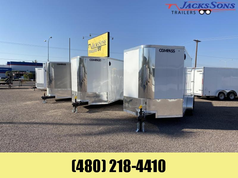 2021 Compass 7x14 Enclosed Cargo Trailer Please call for price & availability
