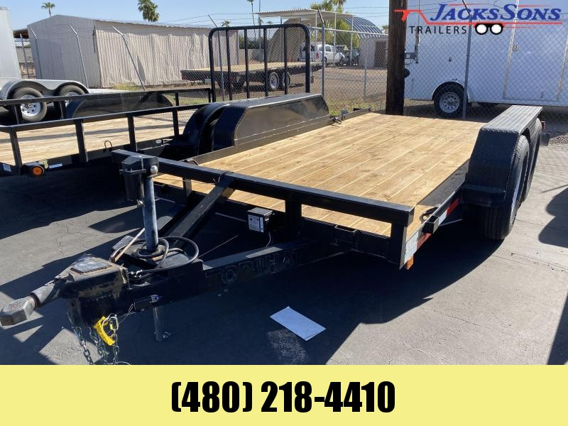 2006 Top Hat Trailers 77X14 Equipment Trailer