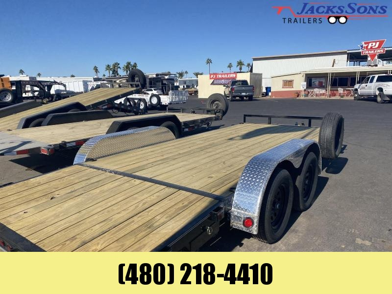 2021 PJ Trailers 83x18 Car / Racing Trailer