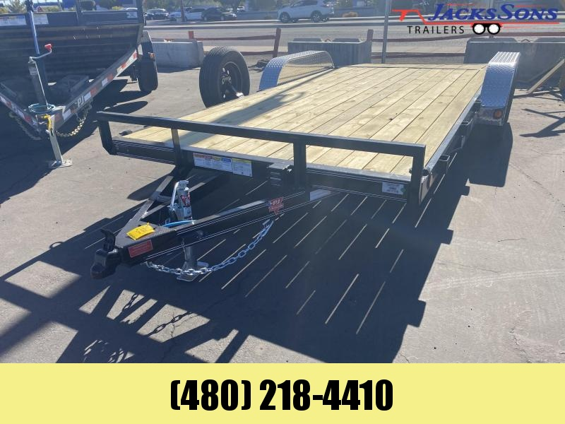 2021 PJ Trailers 83x18 Car / Racing Trailer