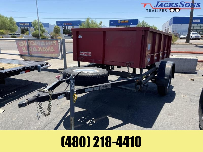 2014 All Type Trailers 5X8 Dump Trailer