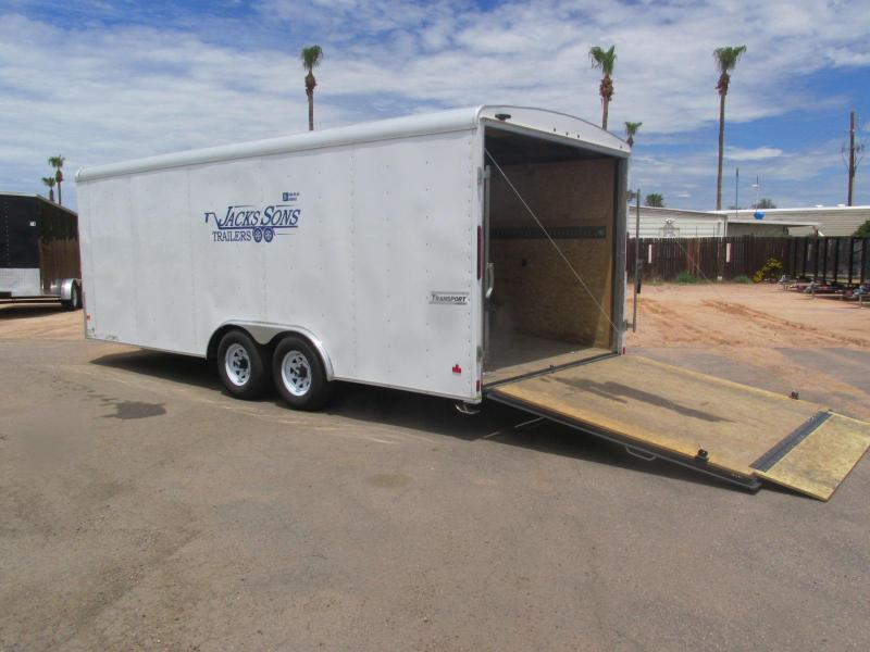 8.5' X 20' Enclosed Car / Racing Trailer Rental