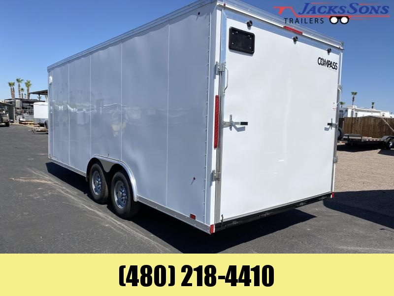2020 Compass 8.5x20 Enclosed Cargo Trailer