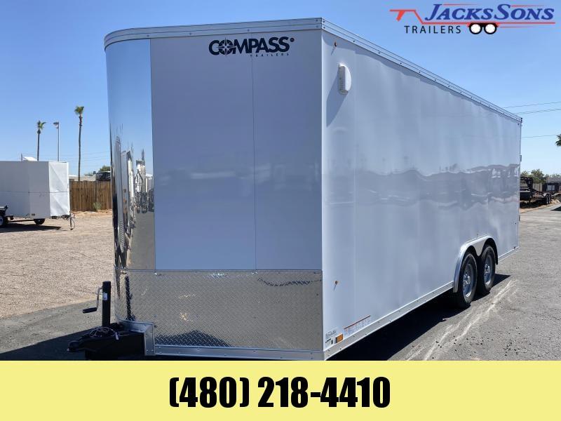 2020 Compass 8.5x20 Enclosed Cargo Trailer