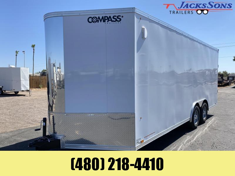 2020 Compass 8 5x20 Enclosed Cargo Trailer