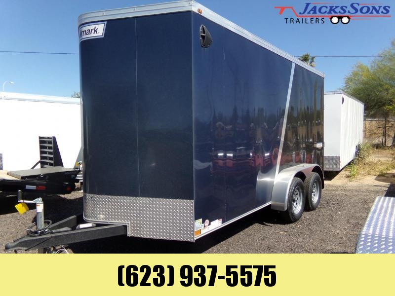 2020 Haulmark 14 X 7 UTV PACKAGE X-TRA HEIGHT 2 TONE Enclosed Cargo Trailer