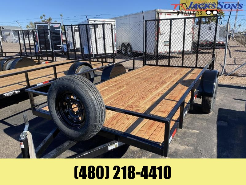 2020 Work And Play 6X12 Utility Trailer