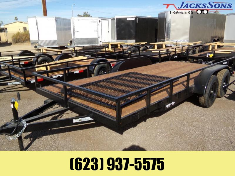 2020 Other 16 X 81 TANDEM UTV UTILTY RAMP GATE Utility Trailer