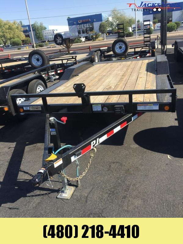 2020 PJ Trailers 102x18 Car / Racing Trailer