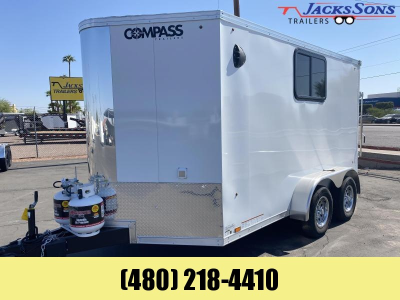 2021 Compass 7x12 Enclosed Cargo Trailer