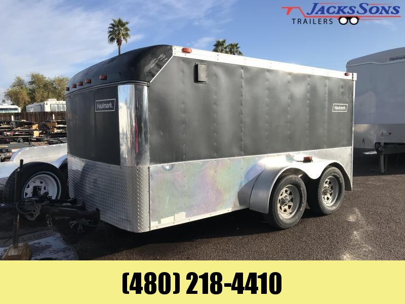 1999 Haulmark 7X12 Enclosed Cargo Trailer