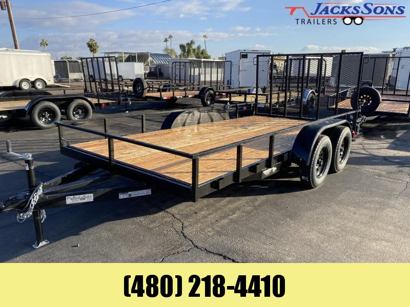 2020 Work And Play 81X14 Utility Trailer