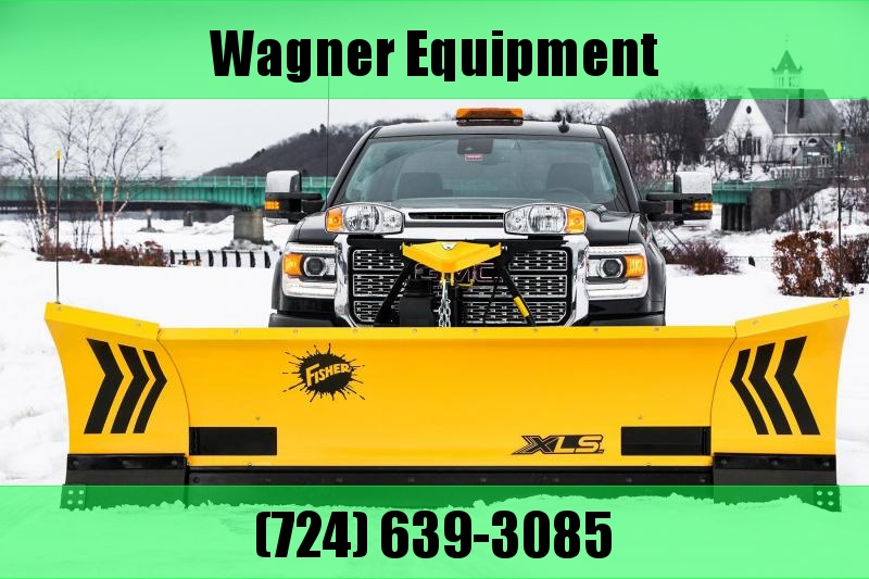 "Fisher 8'6""-11' XLS 8611 MS Expandable Wing Snow Plow"