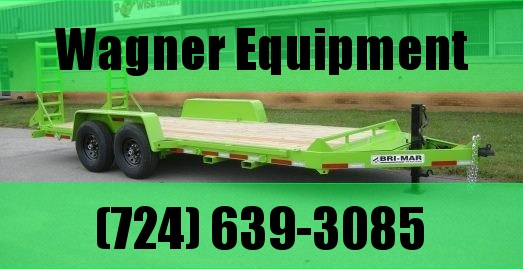 "Bri-Mar EH18-14-HD 82""x18' Equipment Trailer 14K GVWR"