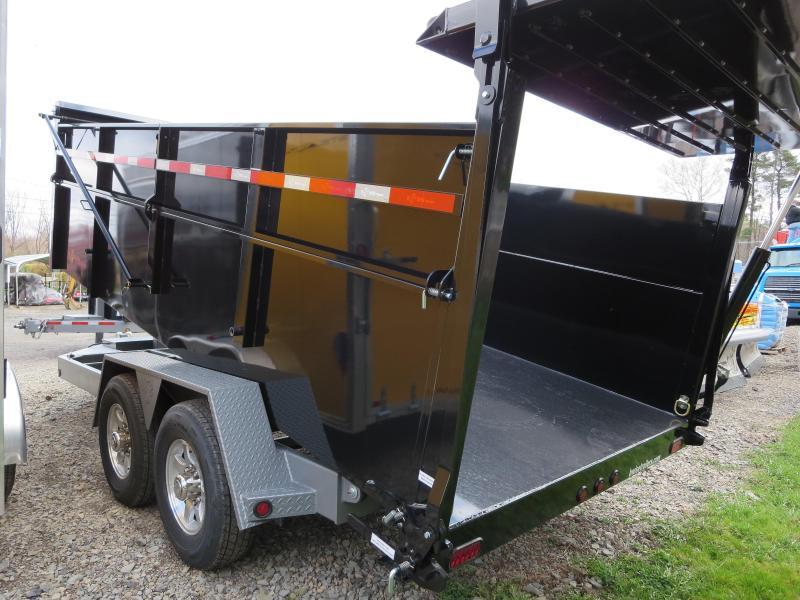 "B-Wise DU16-15 82""x16' Ultimate Dump Trailer 15K GVWR"