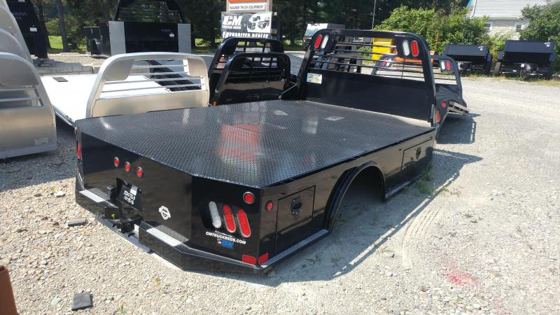 "CM SK Steel Flatbed Cab and Chassis 60"" CA"