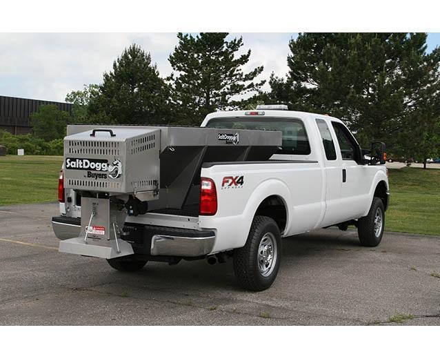 SaltDogg 1400100SS Gas Drive Hopper Stainless Steel Spreader *CALL FOR PRESEASON SALE PRICE*