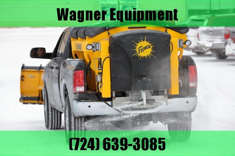 2018 Fisher Engineering Poly-Caster 78004-1 Salt Spreader