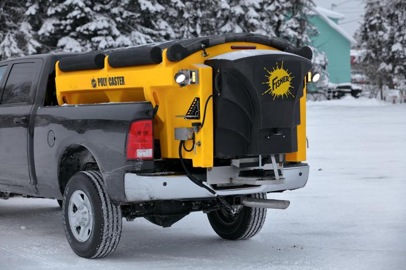 2018 Fisher Engineering Poly-Caster 78004-1 Salt Spreader