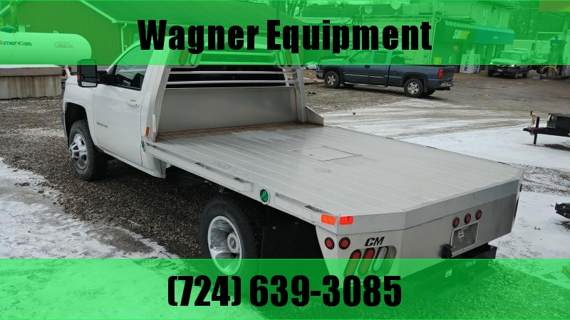 """CM RD Aluminum Flatbed Cab and Chassis 60"""" CA"""