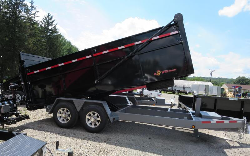"B-Wise DU14-15 82""x14' Ultimate Dump Trailer 15K GVWR"