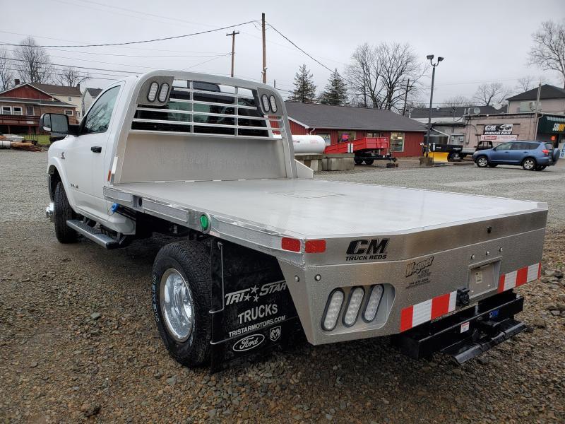 2020 Ram 3500 Truck With CM Aluminum Flatbed