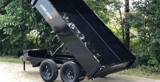 DTR610D-10 6'x10' Deckover Dump Trailer 10K GVWR
