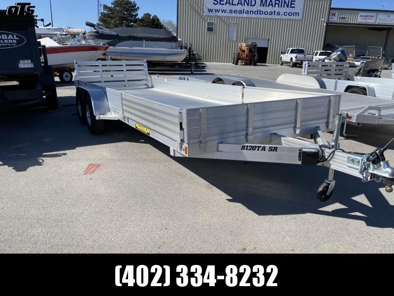 2020 Aluma 8120TASR Utility Trailer