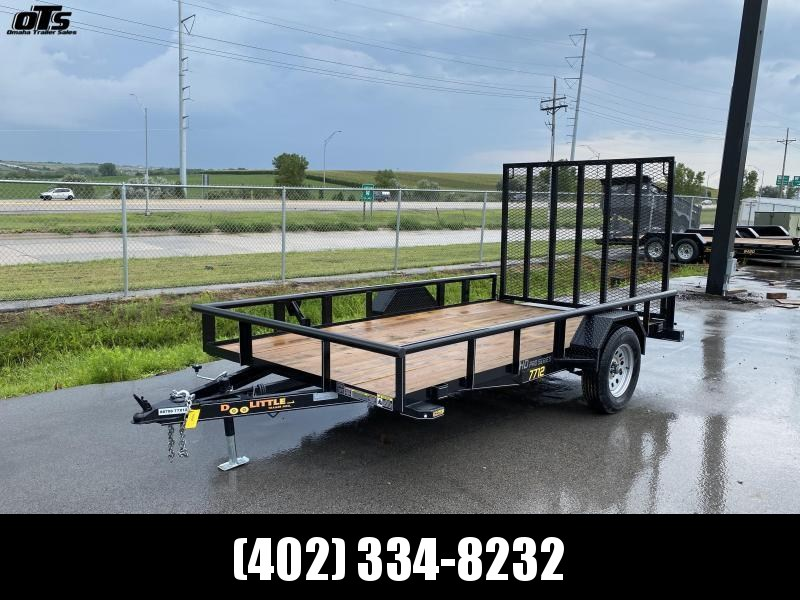 2021 Doolittle Trailer Mfg 770 Series Single Axle 3K Utility Trailer