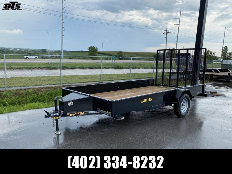 2021 Doolittle Trailer Mfg 840 Series Single Axle 3K Utility Trailer