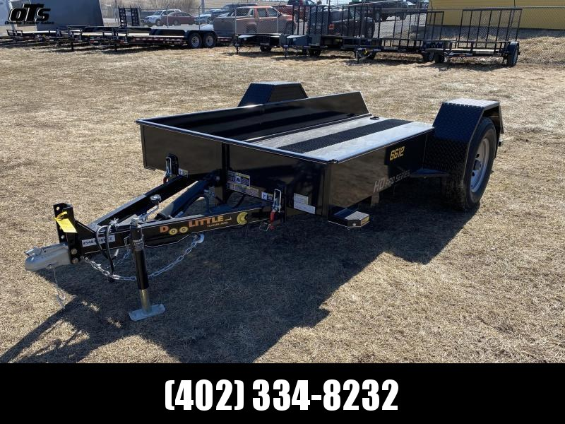 2020 Doolittle Trailer Mfg 660 Series Single Axle 7K Utility Trailer
